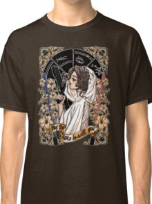 The force of the Princess Leia Classic T-Shirt