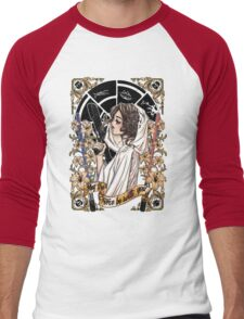 The force of the Princess Leia Men's Baseball ¾ T-Shirt