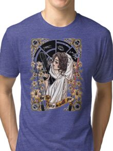 The force of the Princess Leia Tri-blend T-Shirt