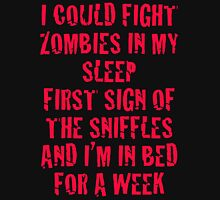 Zombies & Sniffles (Red) Unisex T-Shirt