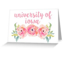 University of Iowa Greeting Card