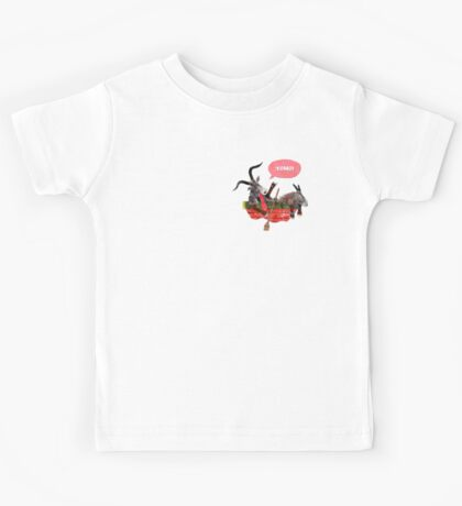 Goats in a Boat Kids Tee