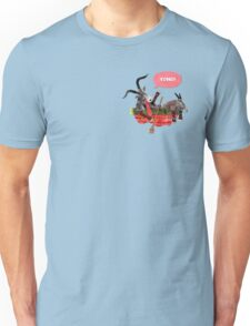 Goats in a Boat Unisex T-Shirt