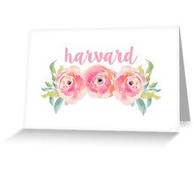 Harvard University Greeting Card
