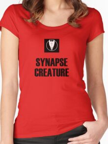 Synapse Creature Women's Fitted Scoop T-Shirt