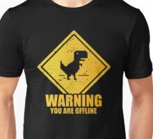 Warning Offline Unisex T-Shirt