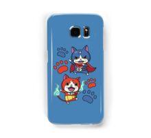 Jibanyan and Fuyunyan Samsung Galaxy Case/Skin