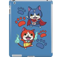 Jibanyan and Fuyunyan iPad Case/Skin