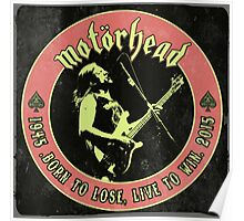 Motorhead (Born to lose) Vintage Poster