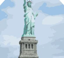Statue of Liberty National Monument Sticker