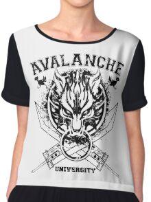 Avalanche University FVII v2 Chiffon Top