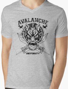 Avalanche University FVII v2 Mens V-Neck T-Shirt