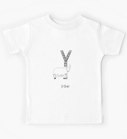 Y is for Yak Kids Tee