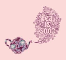Tea is Good One Piece - Short Sleeve