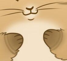 Fluffball Tabby Kitten Sticker