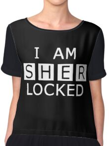 Sherlocked Chiffon Top