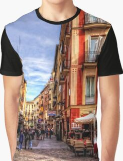 Shopping in Madrid Graphic T-Shirt