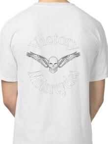 Victory motorcycle vampire skull t-shirt Classic T-Shirt