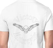 Victory motorcycle vampire skull t-shirt Unisex T-Shirt