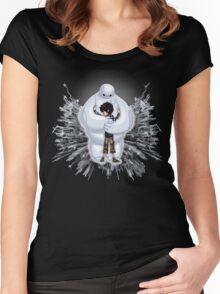 Big Hug  Women's Fitted Scoop T-Shirt
