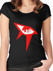 Mirror's Edge - Red Women's Fitted Scoop T-Shirt