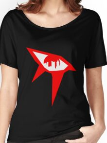 Mirror's Edge - Red Women's Relaxed Fit T-Shirt
