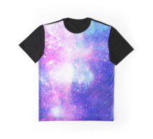 Abstract Galaxy Space Effect Graphic T-Shirt