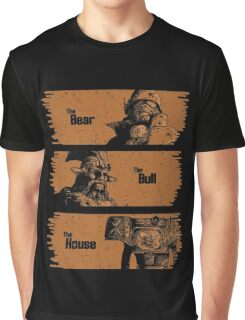 The Bear, The Bull, The House Graphic T-Shirt