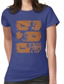 The Bear, The Bull, The House Womens Fitted T-Shirt