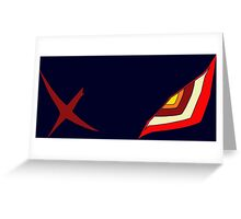 Senketsu Kill la Kill Greeting Card