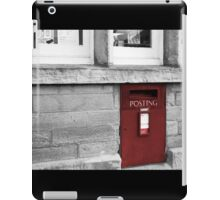 Postal Service Red Select iPad Case/Skin