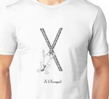 X is for Xenopus Unisex T-Shirt