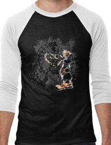 Sora heart world Men's Baseball ¾ T-Shirt