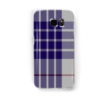 00471 Buchanan Dress Blue Dance Tartan  Samsung Galaxy Case/Skin