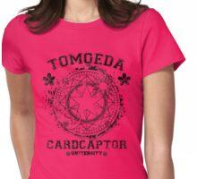 Tomoeda Cardcaptor University v.2 Womens Fitted T-Shirt