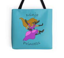 Ninja Princess Tote Bag