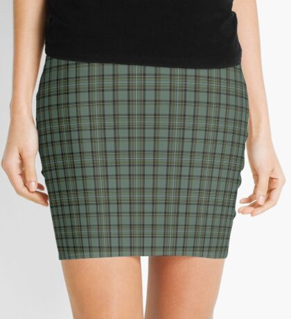 00475 Blue Cavalier Fashion Tartan  Mini Skirt