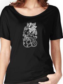 Bird Killing Snake from Dresden Codex Women's Relaxed Fit T-Shirt