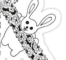 R is for Rabbit Sticker