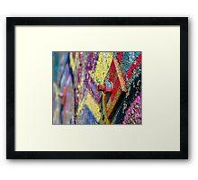 The Colors of Streetart Framed Print