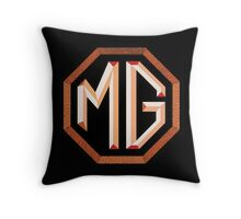 MG octagon logo England Throw Pillow