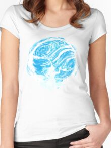 water tribe Women's Fitted Scoop T-Shirt