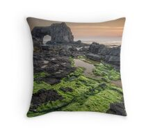 Pollet Great Sea Arch - Fanad Co Donegal Throw Pillow