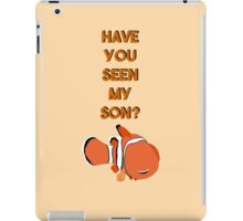 Have You Seen My Son? iPad Case/Skin