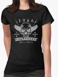 Legendary 1966 Skull Womens Fitted T-Shirt