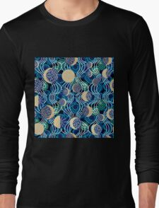 Moon reflection in the water.  Long Sleeve T-Shirt