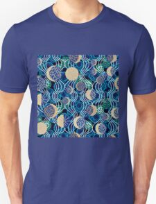 Moon reflection in the water.  T-Shirt
