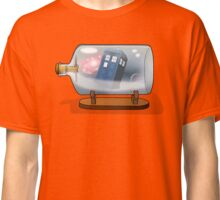 Tardis in a bottle Classic T-Shirt