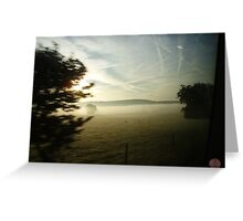 Mist View Greeting Card
