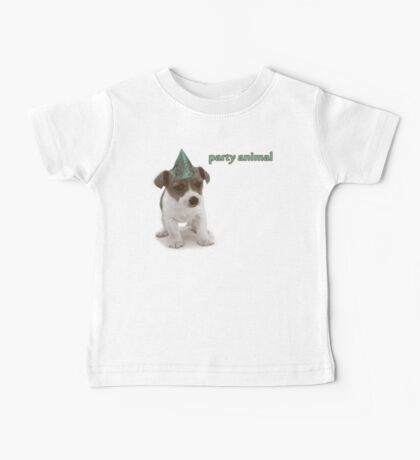 Party Animal Baby Tee